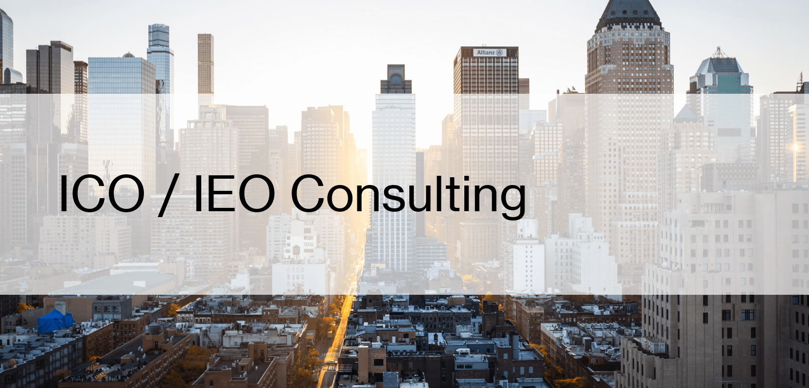 ICO / IEO Consulting